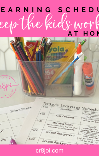 3 Things Kids Need In Order To Learn At Home