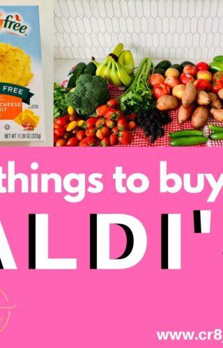 My Aldi's Shopping List